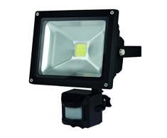 Perel LEDA3002CW-BP Projecteur LED dExtérieur Puce Epistar, Aluminium, 20 W, Multicolore