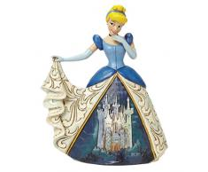 Disney Traditionsitions Figurine Cendrillon en Robe avec son château