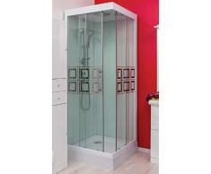 Aqua Plus SACHCABKELIA Kelia 80/80 Cabine de douche non hydro Vert dEau