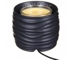 YANKEE CANDLE - 1533245 - DIFFUSEUR DE PARFUM DINTERIEUR SCENTERPIECE MELT CUP WARMER NOAH BLACK TIMER