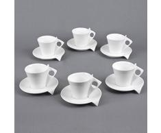TABLE PASSION APD3044091 Tasse, Porcelaine, Multicolore, 34 X 50