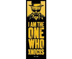 Empire Interactive Poster de Porte, Motif: I am The One Who Knocks–Breaking Bad, Bunt, 53 x 158 cm