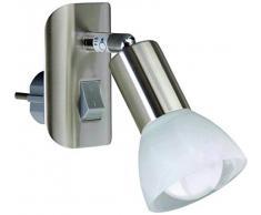 Briloner Leuchten 2741-012P Lampe de lecture AGL 1 douille E14 Nickel mat