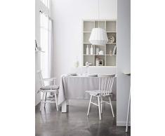 Today Nappe Coton 140/240 Zinc Coton Gris 140 x 240 cm