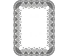 Darice 1217-48 Classeur de gaufrage Plastique Transparent 10,8 x 14,6 x 0,3 cm