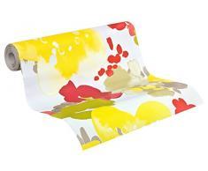 Esprit Home Papier peint Buenos Aires multicolore jaune rouge 10,05 m x 0,53 m 941463