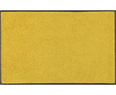 Wash+Dry Trend-Colour Honey Gold Tapis, Surface en Polyamide, Jaune, 40/60
