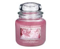 Village Candle 106316332 Cherry Blossom Pot de verre Rose 10,3 x 10,1 x 12,4 cm