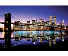Pyramid Generic PP31829 Brooklyn Bridge (Colour) Maxi Poster, Multicolore, 61 x 91,5 cm