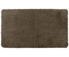 Wenko 22328100 Tapis de Bain Moelleux Polyester/Acrylique Cacao 120 x 70 x 1 cm