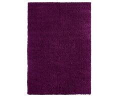 Luxor Living 1100213Barrie Tapis tufté à poils longs Violet, lilas, 80x150cm