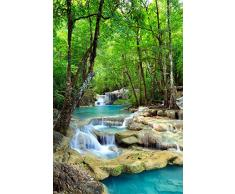 Empire merchandising 687708 cascades, blue water naturel paradis poster impression photo-dimensions : 61 x 91.5 cm