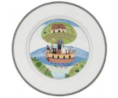 Villeroy & Boch 10-2337-2643 Assiette à Dessert Porcelaine Vert 22 x 23 x 7 cm 1 Assiette