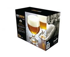 DUROBOR 072248 Beer Expertise Tavern 981-48 Set de 2 Verres à Bière Verre Transparent 10,5 x 20,5 x 16,5 cm
