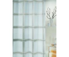 Spirella 10.00387 Rideau de Douche Scott White Peva 180 x 200 cm