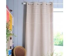 Lovely Casa R61426001 Carmelle Rideau Polyester Beige 260 x 135 cm