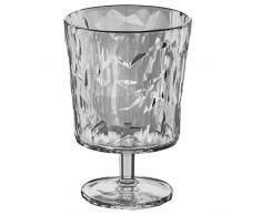 Koziol 3577535 Crystal 2.0 Verre à Pied Plastique Transparent 6,4 x 6,4 x 10 cm 250 ml