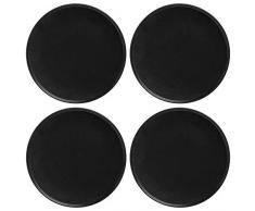 Maxwell Williams Assiettes Caviar Speckle, Porcelaine, Noir , 26.5 cm