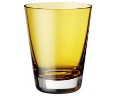 Villeroy & Boch Colour Concept Verre à eau Amber, 290 ml, Verre, Transparent/Jaune