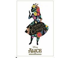 empireposter 738165Alice in Wonderland–Classic–Disney Contes Film Poster, Papier, multicolore, 91,5x 61x 0,14cm