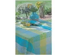 Garnier-Thiebaut MILLE ALCEES Nappe ronde, coton, Narcisse, diam. 180 cm