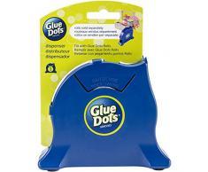 Glue Dots Points de Colle Marine Bureau Distributeur, matière synthétique, 15.9x 12.7x 4.1cm