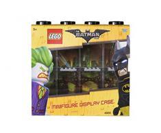Vitrine de présentation des mini-personnages LEGO Batman pour 8 mini-personnages, conteneur empilable contre un mur ou sur un bureau, noir