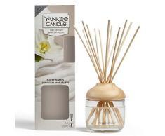 Yankee Candle Brins Diffuseurs, Serviettes Moelleuses, 120ml, Jusquà 10Semaines de Parfum