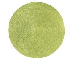Torchons & Bouchons Set De Table Rond - Vert Kiwi