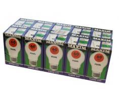 Defender Transparent 240 V 60 W Ampoule E/S (Pack de 100)