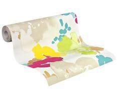 Esprit Home Papier peint Buenos Aires beige multicolore jaune 10,05 m x 0,53 m 941461