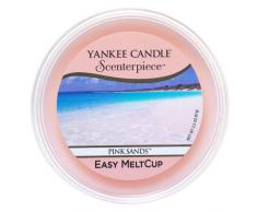 Yankee Candle coupelle de cire « Sable rose » pour diffuseur Scenterpiece, rose