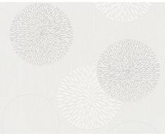 A.S. Création Papier peint intissé Spot crème blanc 10,05 m x 0,53 m 937922