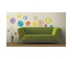 Jomoval RoomMates Sticker mural Repositionnable Motifs à pois