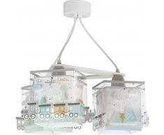 lampe suspension enfant 3 lumières The Night Train