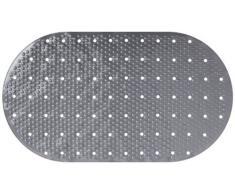 Gelco Design 707129 Tapis Anti-Dérapant Gloss Gris 39 x 69 cm