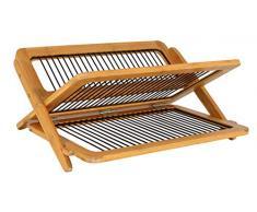 Totally Bamboo BA206710 Egouttoir à vaisselle bambou/métal
