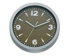 Kela 22735 Madrid Horloge Murale Polystyrène Taupe 20 x 20 x 4 cm