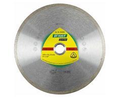 Klingspor dT 300 f aDT diamantwerkzeuge gmbH disque eXTRA à tronçonner diamanté pour carrelage, basic pour meuleuse dangle - 125 x 1,6 x 22,23 mm