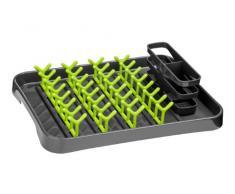 Premier Housewares 0806568 Égouttoir à Vaisselle Gris/Vert