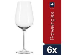 Leonardo 017358 Tivoli Set de 6 Verres à Vin Rouge 540 ML