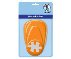 Ursus Perforatrice à Levier Moyen Puzzle. 25,4 mm, Orange