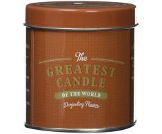 The Greatest Candle in the World TT180DF Fleur de Darjeeling Bougie dans Boîte Métal Cire Végétale