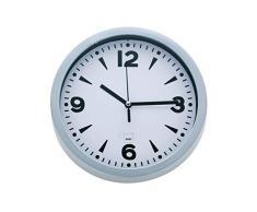 Kela 17161 horloge murale diamètre 20 cm, coloris blanc, Paris