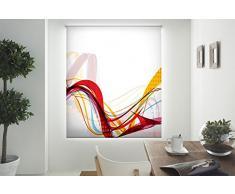 Bindecor W-V-28517 Store Enrouleur translucide avec Impression numérique 110x180cm Multicolore