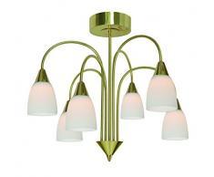 Wofi 9453.06.32.0000 Casa Suspension LED Laiton Mat 5 W