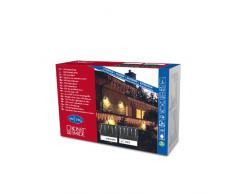 Konstsmide 2746-202 Rideau Lumineux 16 Stalactites + 24 LED + Câble Blanc 24 V