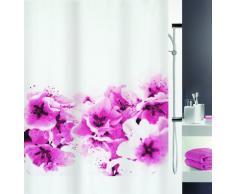 Spirella 10.15174 Rideau de Douche Amanda Photorealistic Pink Textile 180 x 200 cm