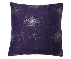 Soleil docre 547699 Strass Coussin Polyester Violet 40 x 40 cm