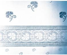 Gedy Rideau 7124041330-Dentelle Bleu 240 x 200